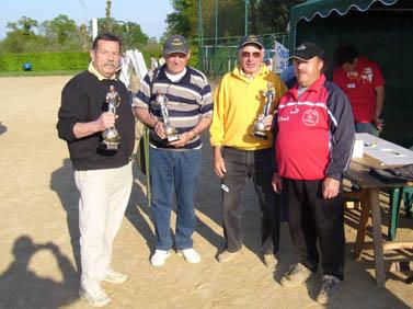 L'équipe du club de Bruz, vainqueur du tournois